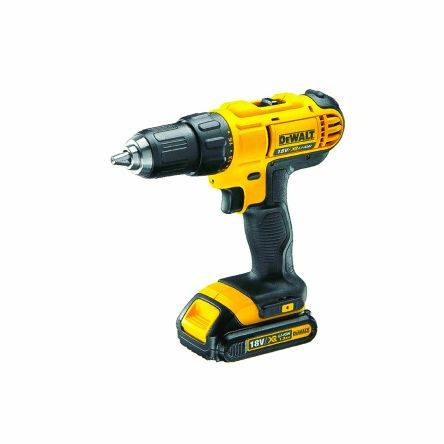 DeWALT Perceuse sans fil 13 mm, 18V, 1.3Ah Li-Ion, DCD771C2