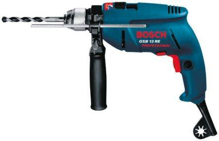 Bosch Perceuse à percussion filaire, , GSB 13RE, 600W, 0.601.217.160 (110) 170 (240V)