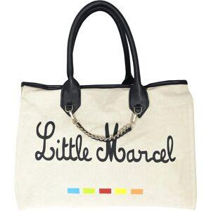 Little Marcel Sac à Main Shopping en Toile Little Marcel - BEIGE - Publicité