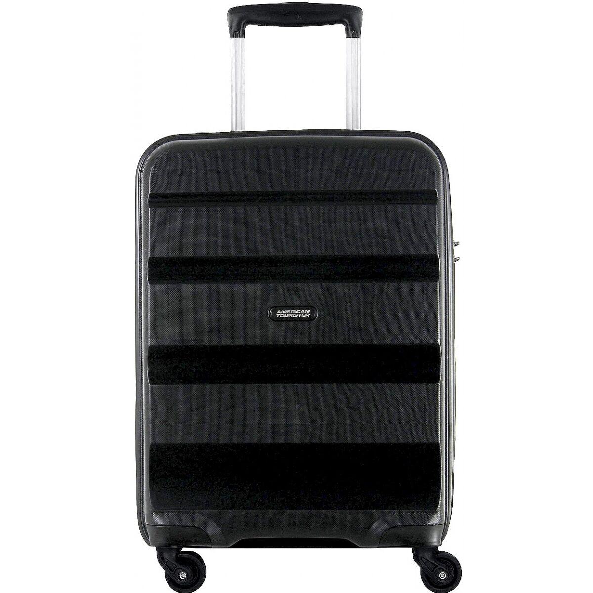 american tourister valise cabine rigide american tourister bonair tsa polypropylène - noir