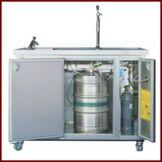 Pompe à bière K&M; HOLLAND système frigo émaillé 1 fût 3 portes avec ...