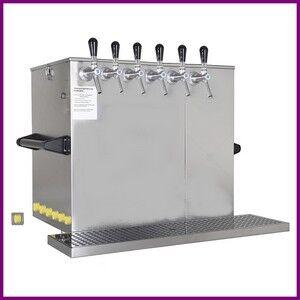 SELBACH Pompe à bière SELBACH système à eau 90 L/h avec 6 robinets
