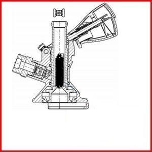 MICRO MATIC Kit anti-retour MICRO MATIC pour tête de fut de pompe à bière A