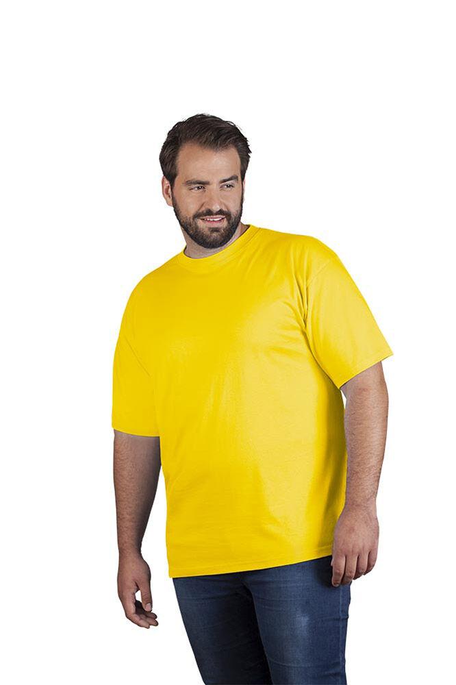 promodoro T-shirt Premium grandes tailles Hommes or