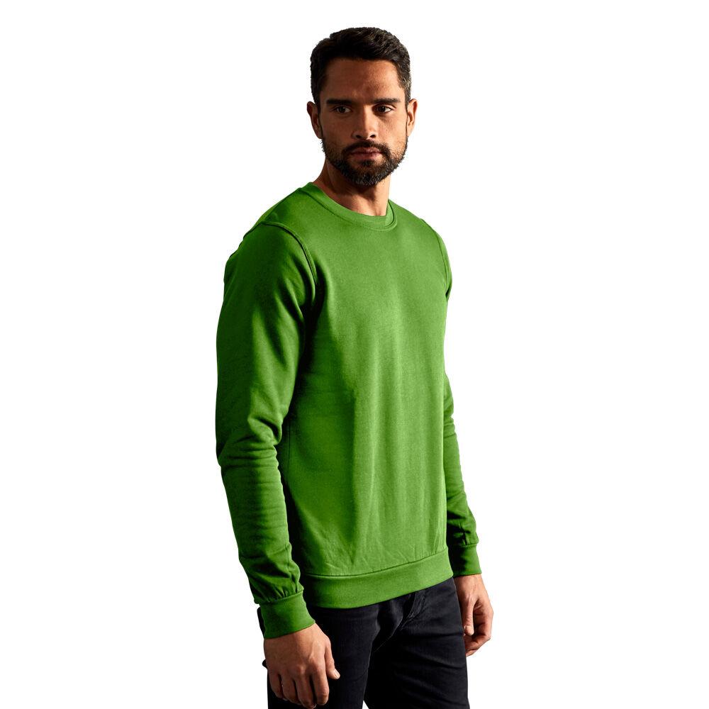 promodoro Sweat Premium Hommes L vert citron