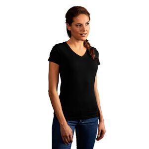 promodoro T-shirt slim col V Femmes XL noir