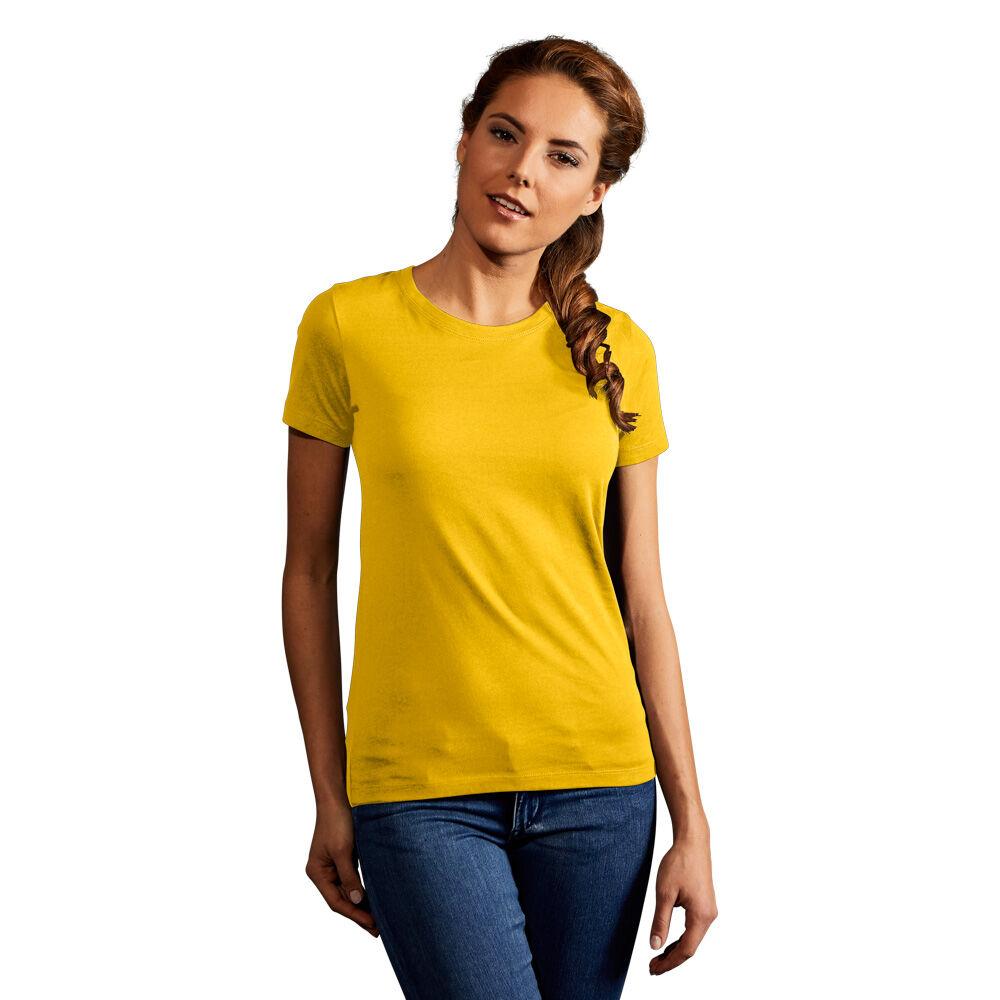 promodoro T-shirt Premium Femmes or