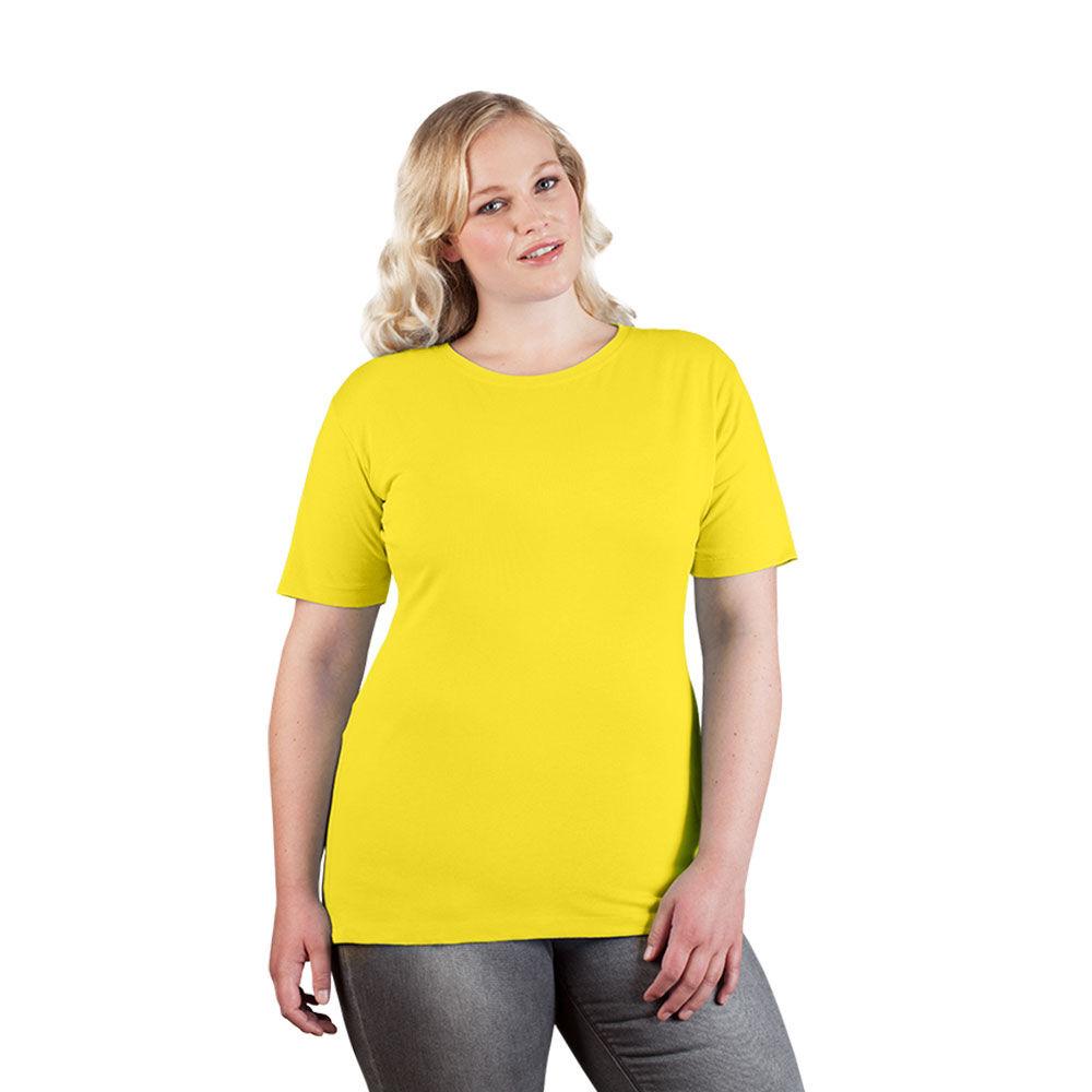 promodoro T-shirt Premium grandes tailles Femmes or