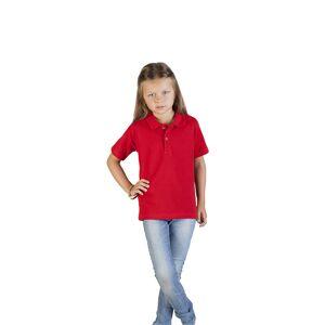 promodoro Premium Polo Enfants  rouge feu