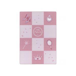 BOBOCHIC Tapis PRINCESSE Rose 200x290 - Publicité