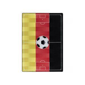 BOBOCHIC Tapis TERRAIN DE FOOT Multicolore 2 80x120 - Publicité