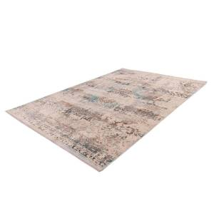 BOBOCHIC Tapis VERA Taupe / Turquoise 160cm x 230cm - Publicité