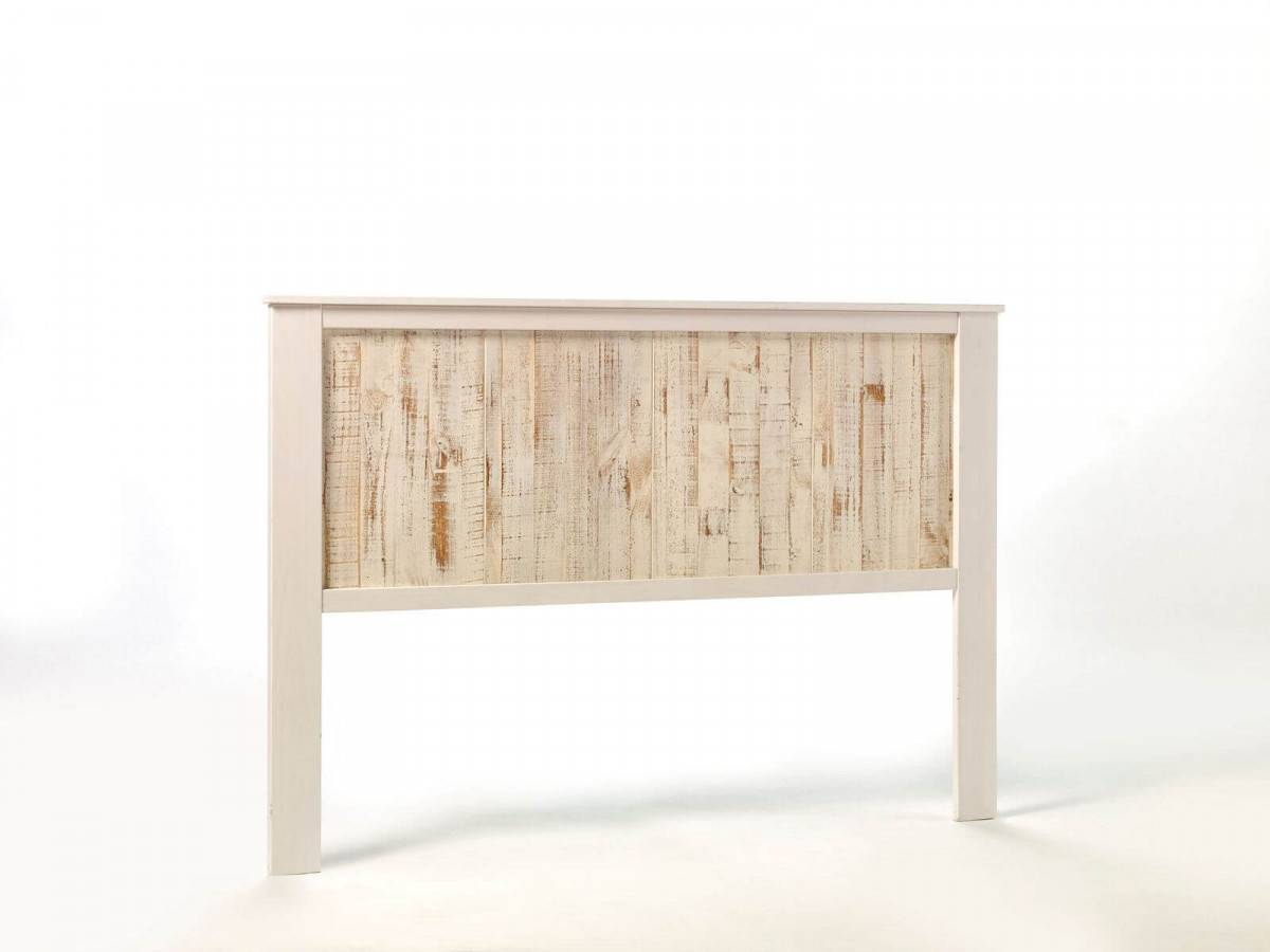 BOBOCHIC Tête de lit 160 cm LORIA Bois blanchi