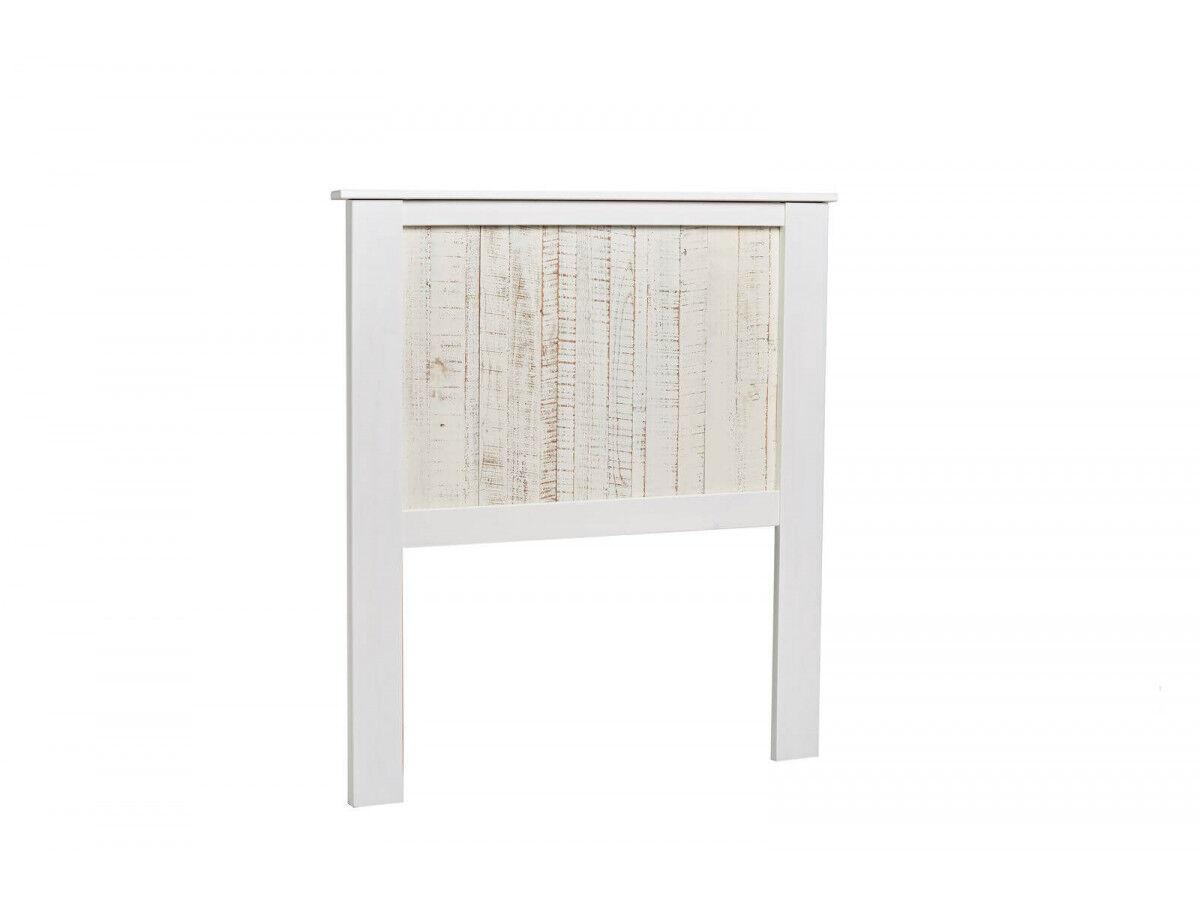 BOBOCHIC Tête de lit 90 cm LORIA Bois blanchi