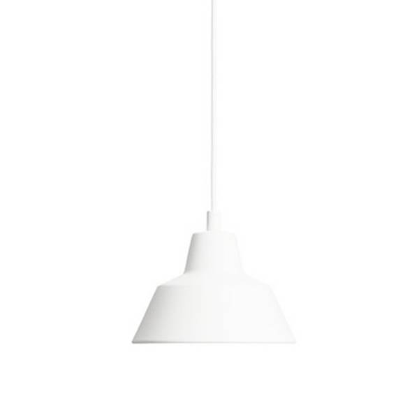 Made By Hand Lampe d'Atelier Suspension Blanc Mat W1