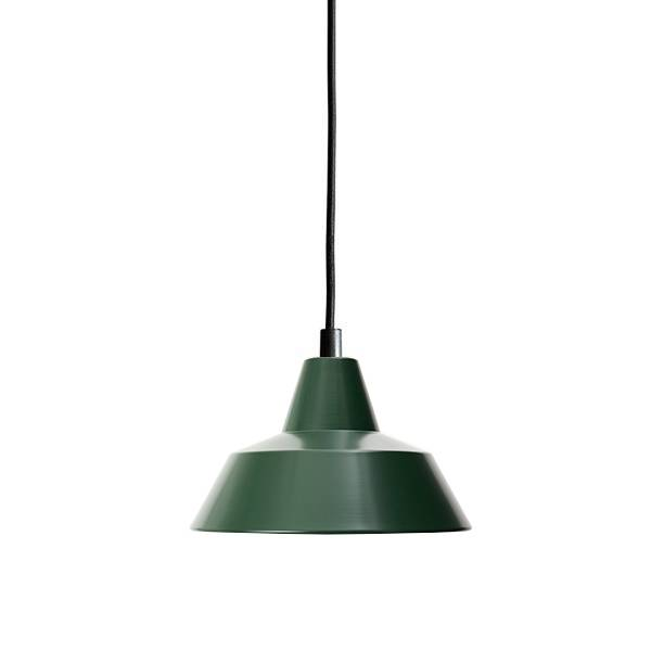 Made By Hand Lampe d'Atelier Suspension Racing Green W1