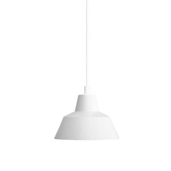 Made By Hand Lampe d'Atelier Suspension Blanc W1