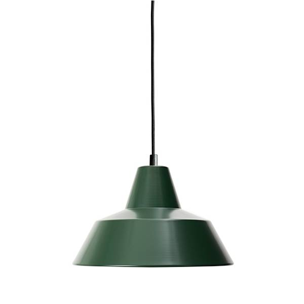Made By Hand Lampe d'Atelier Suspension Racing Green W2