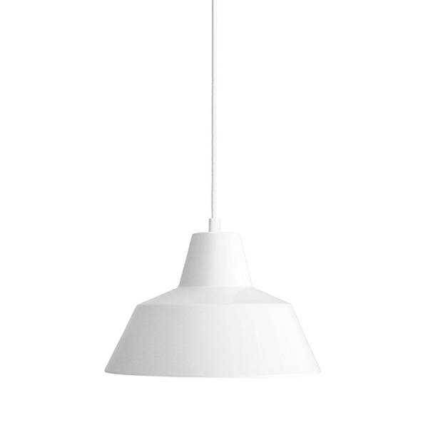 Made By Hand Lampe d'Atelier Suspension Blanc W2