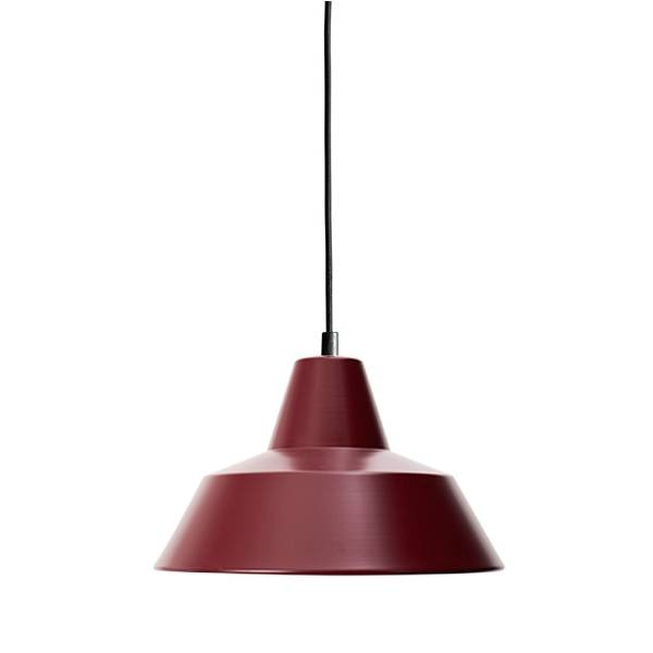 Made By Hand Lampe d'Atelier Suspension Wine Red W2