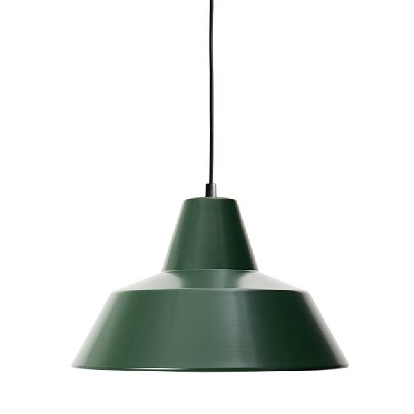 Made By Hand Lampe d'Atelier Suspension Racing Green W3