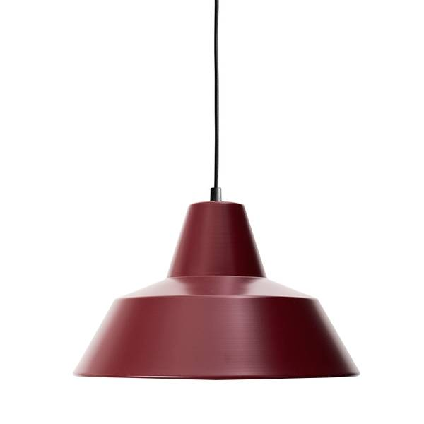 Made By Hand Lampe d'Atelier Suspension Wine Red W3