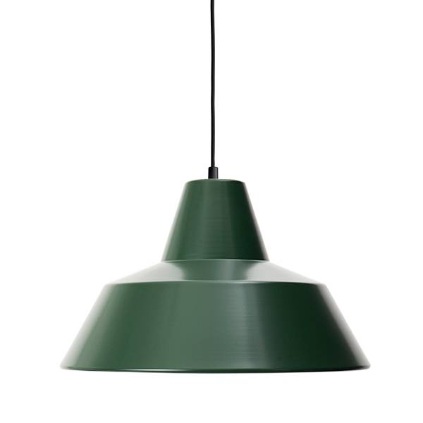 Made By Hand Lampe d'Atelier Suspension Racing Green W4