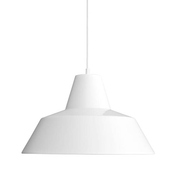 Made By Hand Lampe d'Atelier Suspension Blanc W4