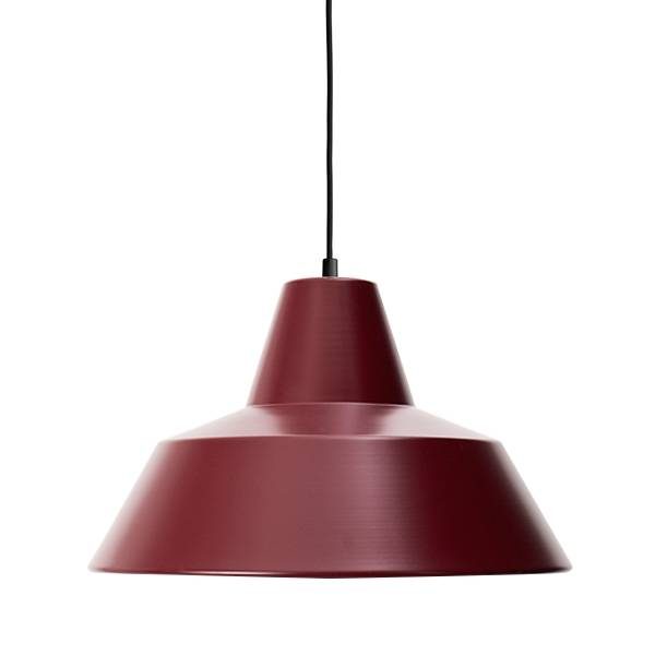 Made By Hand Lampe d'Atelier Suspension Wine Red W4