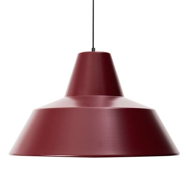 Made By Hand Lampe d'Atelier Suspension Wine Red W5
