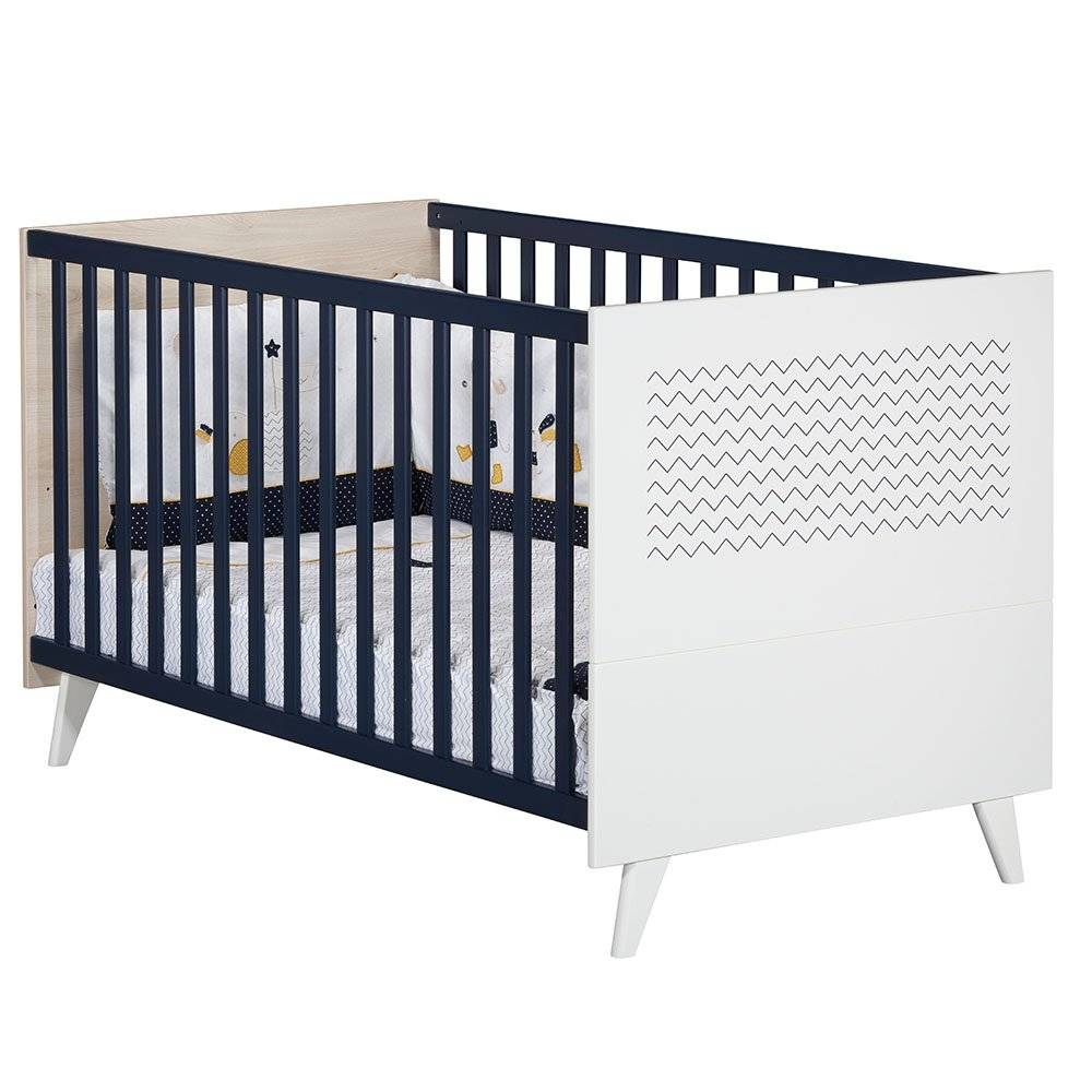 Sauthon Lit Little big bed Hello BLEU Sauthon