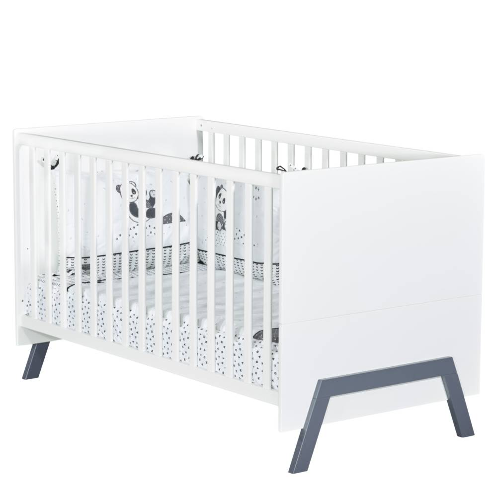 Sauthon Lit Little big bed Graphic BLANC Sauthon