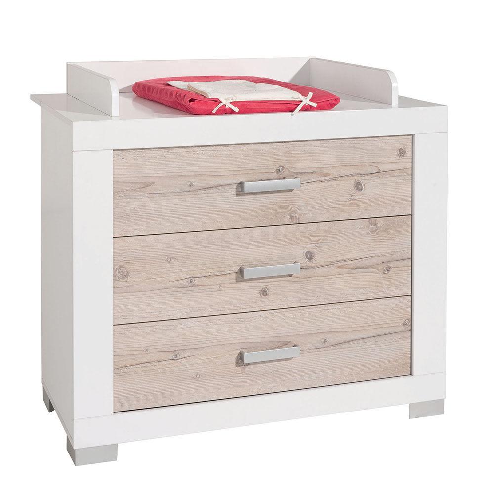 Paidi Commode 3 tiroirs + plan Ayden BEIGE Paidi