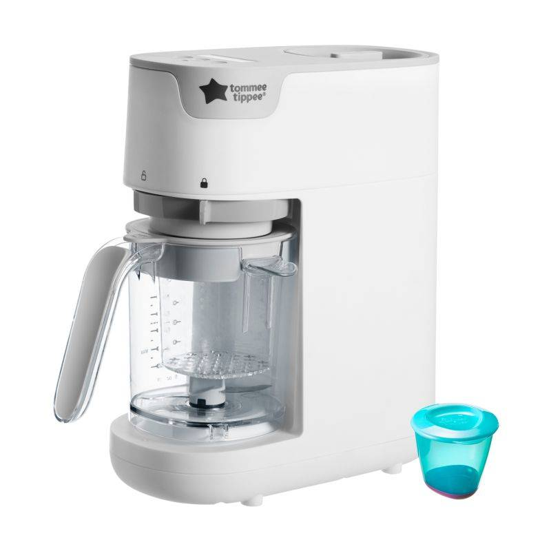 Tommee Tippee Robot cuiseur mixeur vapeur BLANC Tommee Tippee