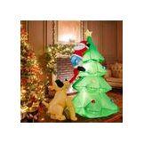 AUCUNE Père Noel et sapin gonflable