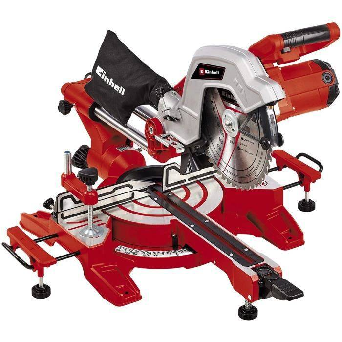Einhell Scie à onglet coulissante TC-SM 254 1800 W