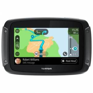 TOM TOM TomTom Rider 500 - GPS Moto 4,3 pouces, cartographie Europe 49 pays, Wi-Fi intégrée, lectures des messages