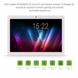 Tablette Tactile 3G 9.6 - 2G+32G MTK6580 Android 7.0 Support WiFi Double Carte SIM