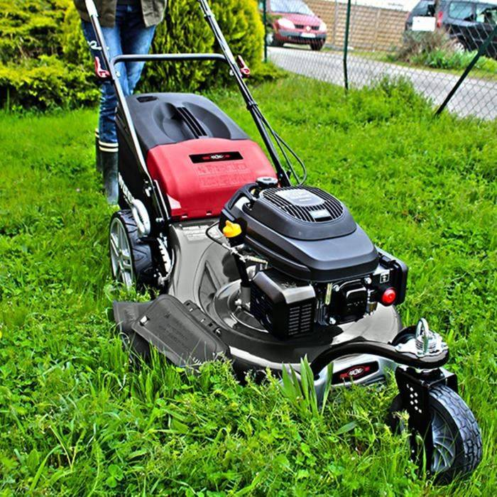 Racing RAC5614F Tondeuse tractée 3 roues 56cm 196cm3 Mulching