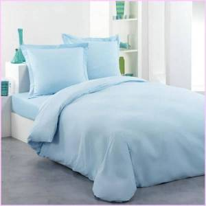 Housse de Couette 200x200 Turquoise + 2 taies