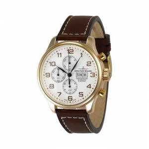 ZENO-WATCH BASEL Zeno-Watch Hommes montre - OS Retro Chronograph Day-Date 18ct red gold - 8557TVDD-RG-f2