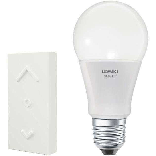 LEDVANCE Ampoule SMAR+ ZigBee Dimming Switch mini - 60 W - Blanc chaud + interrupteur