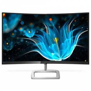 Philips E Line Moniteur LCD incurvé avec Ultra Wide-Color 328E9FJAB-00, 81,3 cm (32-), 2560 x 1440 pixels, Quad HD, LCD, 5 ms
