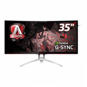 AOC Gaming AGON series AG352UCG - Écran LED - incurvé - 35- (35- visualisable) - 3440 x 1440 - MVA - 300 cd-m² - 2000:1 - 4 ms