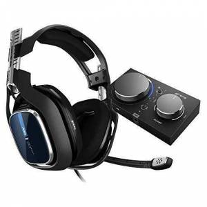 ASTRO Gaming A40 TR Casque Gamer Filaire + MixAmp Pro TR, Génération 4, 7.1 Son Dolby Surround, ASTRO Audio V2, Jack Audio 3,5 mm,