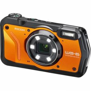 RICOH WG6 Appareil photo Compact outdoor - 20 MP - Vidéo 4K - Orange