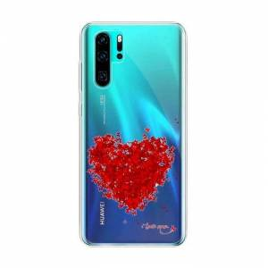 RASENA Coque pour Huawei P30 Pro 6.47- Extra Fine Amour rouge