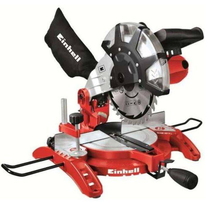 EINHELL scie à onglet radiale 1400W TH-MS 2513 L