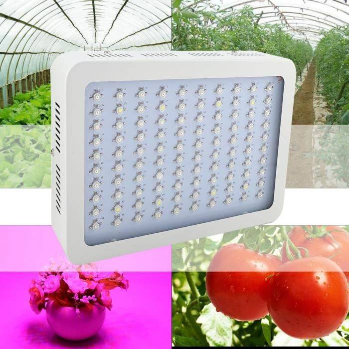 1000W LED Plant Grow Light Bulb Lampe Full Spectrum Hydroponic Green Veg Indoor