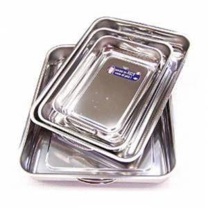 PLAT A FOUR INOX X4 LUXE TAILLE 25/30/35/40 CM CODE 05042000